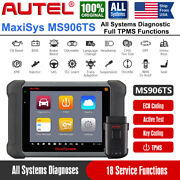 Autel Maxisys Ms906ts All Systems Scanner 18 Reset Function Tpms Diagnostic Tool