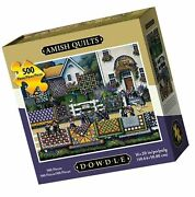 Dowdle Jigsaw Puzzle - Amish Quilts - 500 Piece