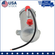 New Universal Electric Fuel Pump 41503 Cylindrical 4-5.5 Psi, 32 G/h,12v