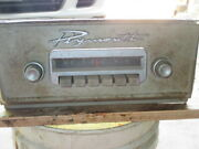1956 Plymouth Mopar Model 841 Am Radio With Face Plate And Knobs