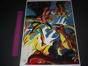 Hawkman And Hawkgirl Team Up Dc Comics Poster Pin Up