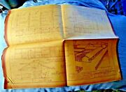 Vintage Lot Of 2 Floor Plan Uc Davis Agricultural Eng Feed Shed Stock 1931