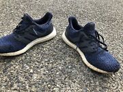 Adidas Ultra Boost 4.0 Legend Ink Carbon Blue Running Size 8.5 Model Cp9250