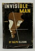 Ralph Ellison - The Invisible Man - 1st 1st 1st Dj 3.50 - African American Lit