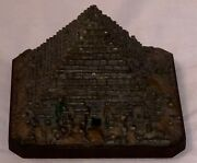 Gorgeous And Very Rare Vienna Cold-painted Bronze Inkwell In The Form Of The Lar