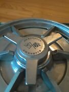 Gm Chevy Rally Wheel Spinner Caps 62 63 Nova Wire Wheel. [only One Cap]