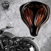 Solo Seat Indian Scout Since`17+mounting Kit+springs Spider Blackandbrown V2 Xs/1