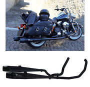 Mohican Arrow Full Exhaust Exhaust Black Harley Davidson Touring 2010 10
