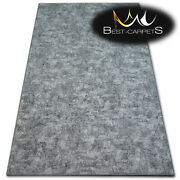 Hardwearing Soft Carpets Pozzolana Grey Thick Wall-to-wall Rug Best-carpets
