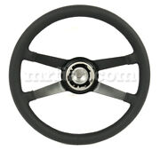 For Porsche 911 Rs Double Wrapped Leather 4 Spoke Steering Wheel Premium New