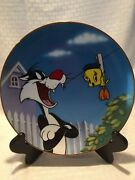 """Loony Tunes Fritz Freeling """"bad Ol Putty Tat"""" Collectors Plate. 410/2500"""