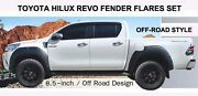 Off-road For Toyota Hilux Revo M70 M80 2015-2018 Fender Flares Arches