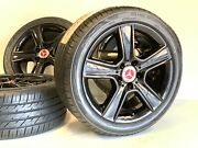 17 Staggered Black Oem Mercedes-benz C S Class Wheels Rims Tire 85099 85100