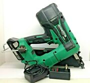Hitachi Nr1890dc Strip Nailer 18v W/battery And Charger
