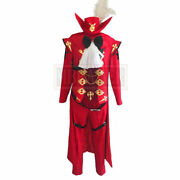 Final Fantasy Xiv Ff14 Red Mage Cosplay Costume @