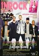 Used Inrock Cover Backstreet Boys 2019 February Music Magazine Book From Japan