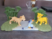 Extremely Rare Walt Disney The Lion King Simba In The Jungle Figurine Statue