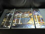 Metal Wall Art Work Modern Design Home Decor Mountains Palm Trees 1 Of 1 Signed