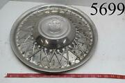 15 In. Rat Rod Wire Lyon Lyons Mfg Co Hubcaps Wheel Covers Center Caps