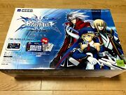 Xbox360 Blazblue Stick Controller + Instruction And Seal New Japan Supre Rare