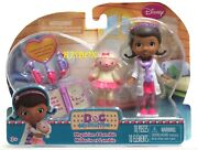 Doc Mcstuffins Physician And Lambie Figures With Accessories New Nip