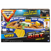 Monster Jam, Monster Dirt Arena 24 Playset With 2lbs Of Monster Dirt And 1 64