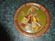 Vtg Pre-prohibition Stegmaier Brewing Co Wilkes Barre Pa 4 Beer Bottle Tip Tray