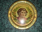 Vtg Pre-prohibition Columbus Brewing Co Ohio Select Pale Beer Tip Tray