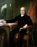 New Photo President John Quincy Adams Portrait By George P.a. Healy - 6 Sizes