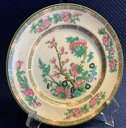 Antique Regal Ware Pottery- Indian Tree, 2 Salad Plates Collectible
