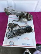 Honda Scooter Motor Engine Case Side Cover Spree Trail 90 Parts Only Lot