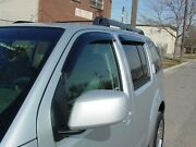 Tape-on Wind Deflectors For A 2005-2012 Nissan Pathfinder