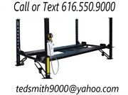 New Best Value Professional 8,000 Lbs. 4-post Car Auto Lift - Special Promo
