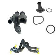 Thermostat Housing Thermostat Gasket Heater Hose For Jeep Patriot 2009-2017