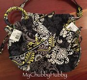 Nwt Vera Bradley 3pc Baroque Emma Purse, All-in-one Wristlet And Tote Bag Set