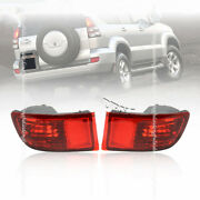 For Toyota Prado Fj120 Lc120 2003-2009 Rear Bumper Tail Fog Light Lamp Housing