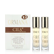 Lashes And Eyebrow Cils+ Oil By Ormana | 2x 7ml / 0.25 Fl.oz. | Fast Shipping