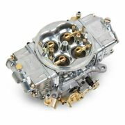 Holley 0-80575s 600 Cfm Supercharger Hp Carburetor Gold Dichromate Finish New