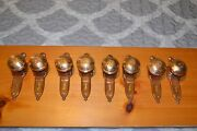 Antique Vintage Intricate Pattern Design Matching Door Knobs, Face Plates 317
