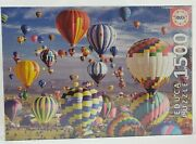 New Educa Jigsaw Puzzle 1500 Piece Hot Air Balloons Made In Spain Puzzle Passion