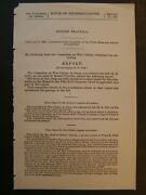 Government Report 1892 Robert Travilla Civil War Claims Soldier Spencer Carbine