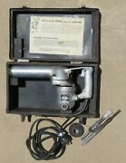 Black Andand Decker 1940and039s Antique Electric Hammer 103 Us W/case 115 V/3.3 Amps Usa