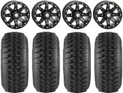 Sti Hd9 15 Bdlk Wheels Mb 32 Ds Soft Tires Polaris Rzr Xp 1000 / Pro Xp