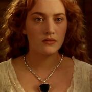 Gorgeous Titanic Movies Heart Of The Ocean Necklace With 170.1ct Sapphire And Cz
