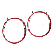 2x Throttle Shift Cable Remote Control Marine Boats Motor For Yamaha Outboards