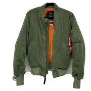 Sold Out Alpha Industries X The Cords And Co Ma-1 Bomber Xs