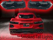 Smoked Replacement Rear Tail Lights Blackouts For The 2020 C8 Stingray Corvette