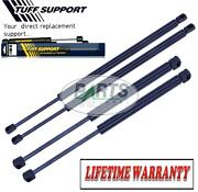 4 Pieces 2 Hood And 2 Gate Trunk Liftgate Door Hatch Lift Supports Shocks Struts