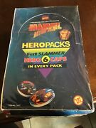 Marvel Action Hour Hero Fat Slammers 1994 Toy Biz Collector Caps Sealed Box Rare