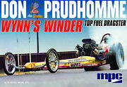 125 Mpc 921- Don Snake Prudhomme Wynns Winder Dragster Model Kit